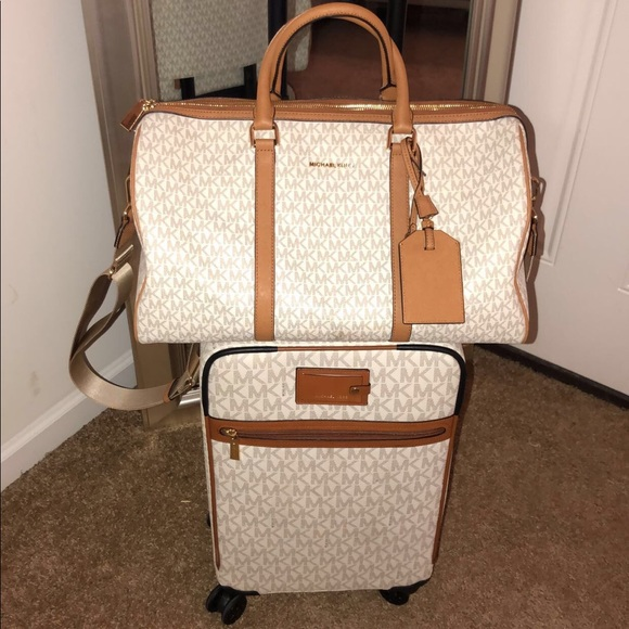 michael kors suitcase